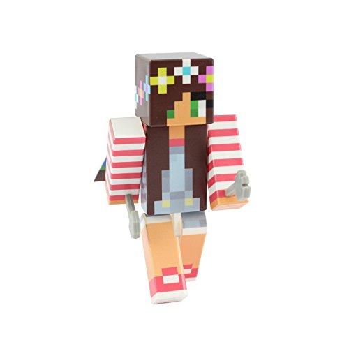 Overalls Girl Action Figure Toy, 10cm Custom Series Figurines, EnderToys …