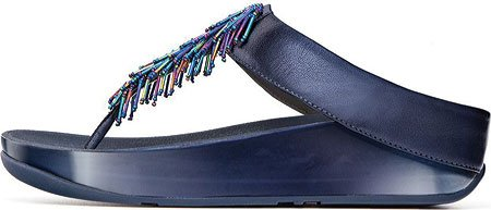 FitFlop Cha Cha, Sandales Plateforme femme 128 Sapphire