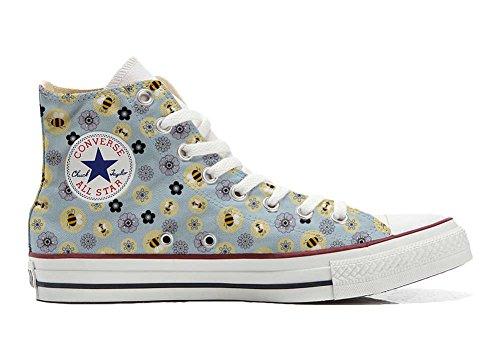 a8f1eb14ff586 Converse All Star personalisierte Schuhe (Handwerk Produkt) Api   Fiori  Size 39 EU