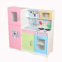 Kiddi-Style Superior Little-Helpers Ultimate XLarge Childrens Kids Pretend Play Toy Wooden Kitchen