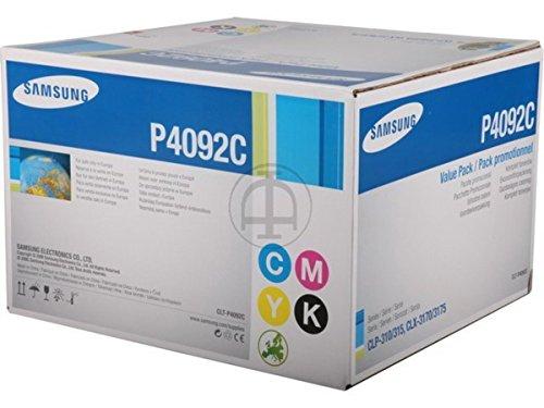 Preisvergleich Produktbild Samsung CLX-3175 (P4092C / CLT-P 4092 C/ELS) - original - Toner MultiPack (schwarz, cyan, magenta, gelb) - 4.500 Seiten