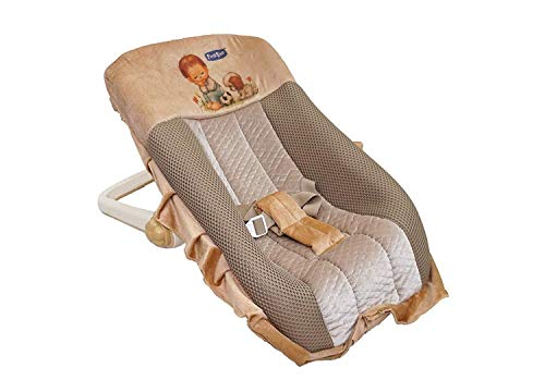 BlackFumes Premium Quality Musical Carry Cot Cum Bouncer - 12 In 1 With Mosquito Net & Storage Box - Feeding Chair, Baby Chair, Rocker, Bath TUB, Carrying.