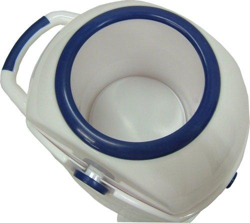 Geruchsdichter Windeleimer Diaper Champ regular blau – für normale Müllbeutel - 3