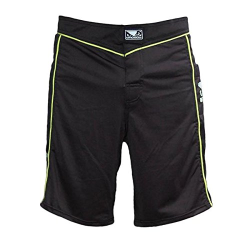 bad-boy-fight-shorts-fuzion-uomo-nero-giallo-xl