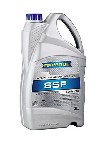 RAVENOL SSF Special Servolenkung Fluid /Hydrauliköl / Servolenkungsflüssigkeit, 4 Liter (Flex Servolenkung)