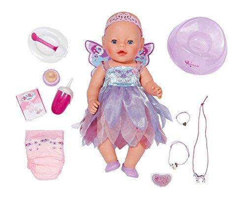 Baby Born 820698 muñeca - muñecas (Chica, Multi, Doll Bracelet, Doll Diaper, Vestido para muñecas, Doll Jewelry, Feeding Bottle, Pacifier, Porridge, , Femenino)