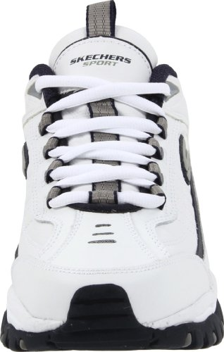 Skechers Energy After Burn Herren, , Bianco/ blu marino