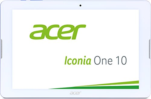 Acer Iconia One 10 (B3-A20) 25,7 cm (10,1 Zoll HD Touch IPS) Media Tablet (1,3 GHz Quad-Core, 16 GB, 1 GB RAM, GPS, Bluetooth, MicroSD, MicroUSB, WLAN, Android 5.1, Multi-Touch) blau