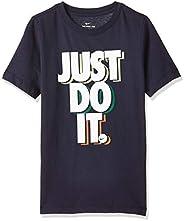 Nike Boy's Jdi Stack T-Shirt, Blue (Obsid