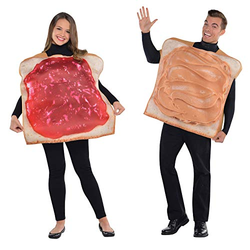 Adult Peanut Butter & Jam Couples Costumes