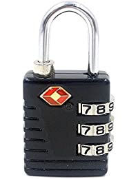TSA Approved 3 Digit Luggage Lock Best For International Travelling Assorted Color & Shape