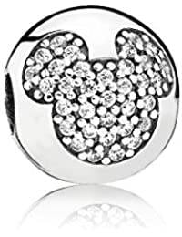 Pandora 791449CZ Pave topolino Disney clip