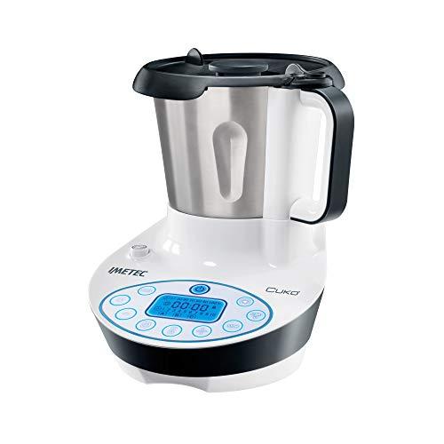 Imetec Cukò Robot da Cucina Multifunzione con Cottura, Multicooker con 3 Programmi Automatici per Risotti, Pasta e Vellutate, 10 Funzioni, 570 W, 4 Porzioni, con Ricettario