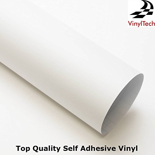 vinyltech-alta-qualit-senza-bolle-in-vinile-varie-dimensioni-colore-bianco-satinato