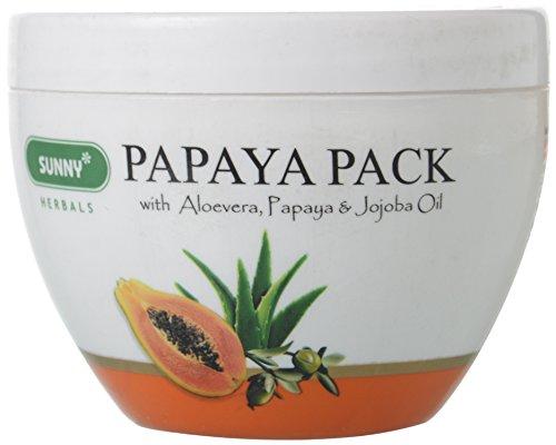 Bakson Sunny Papaya Pack with Aloevera, Papaya & Jojoba Oil, 150 g