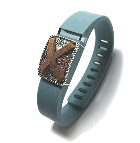 Fashion Wristband for Fitbit Flex with Clasp Wireless Activity-fitness Band Bling Accessory- Dress Outfit. Interchangeable bling