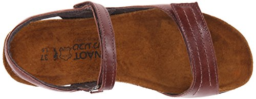 Naot Womens Madison Leather Sandals Luggage Brown