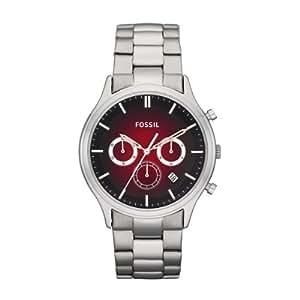 Fossil Herren-Armbanduhr XL Dress Analog Edelstahl FS4675