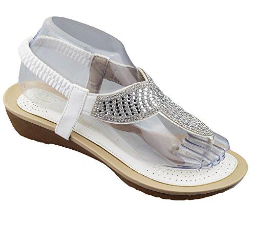 KOLLACHE , Sandales pour femme Blanc