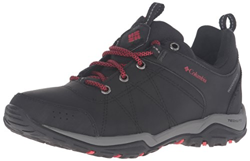 Columbia Fire Venture Low, Chaussures Multisport Outdoor Femme, Black/Burnt Henna