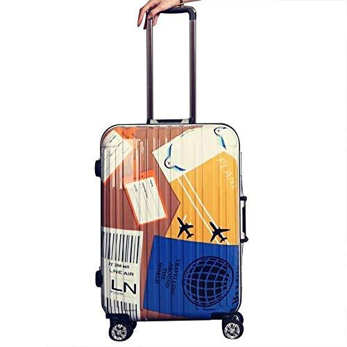 TYUIO Gepäcksets Hartschalengepäck mit Spinner Wheels Piece Suitcase (größe : 49X34X23CM)
