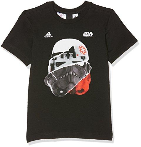adidas Jungen Storm Trooper T-Shirt, Black, 176 Preisvergleich