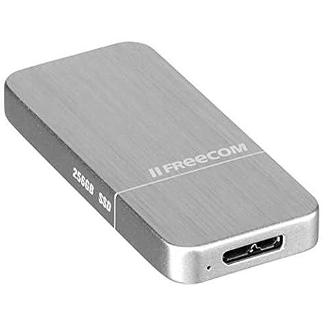 Freecom 56314 Disque Flash SSD externe USB 3.0 256 Go Argent