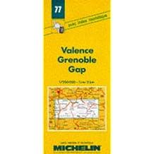Carte routière : Valence - Grenoble - Gap, 77, 1/200000