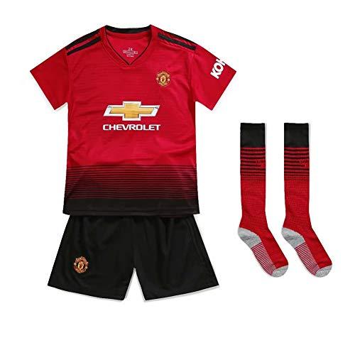 fußball tFan-Hemden Neue Saison Manchester United Fußball-Kit Kind trocken und angenehm Schweiß Shorts und T-Shirt Hemd personifizierter Name Digitaler-22 -