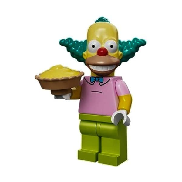 Lego The Simpsons Krusty the Clown Blind Bag Mini-Figure by LEGO 1