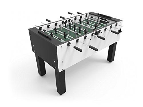 Preisvergleich Produktbild Ullrich-Home Weiß Tischfußball Kicker-Tisch 'NEU' Made in Germany