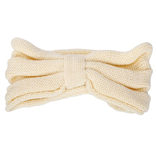 ZUMUii Butterme Mujeres Moda Punto Punto Crochet Arco