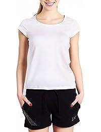 Emporio Armani - T-shirt - Femme blanc blanc