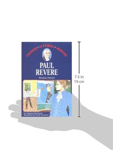 Paul Revere: Boston Patriot (Childhood of Famous Americans Series)