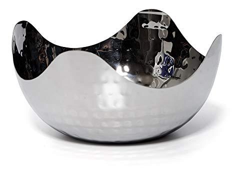stahl-Servierschale - Mehrzweck-Dekorative Metall-Schale 6