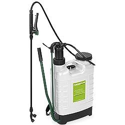 Varo Rückenspritze, Drucksprüher, Druckspritze, Unkrautspritze 12 Liter Volumen - Art. POW63875
