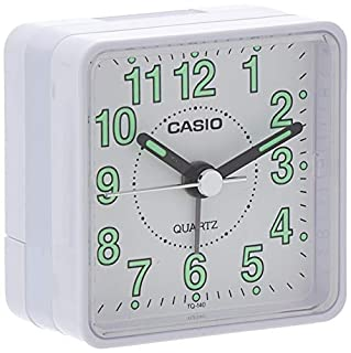 Casio Collection Despetador TQ140, Blanco (B000NG8ZK8) | Amazon Products