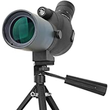 aomekie 15–45x 50HD zoom telescopio Multi Coated Optics compacto impermeable monocular telescopio con trípode para observar aves