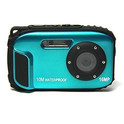 Webat 2.7 inch LCD Digital Camera 16MP Video Camcorder Waterproof Camera Zoom Video Recorder 8X Zoom Action Cam