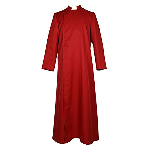 ivyrobes Erwachsene römischen Katholischen Herren Heiliger Priester Kreuz Kanzel (Klerus) Soutane (Katholischen Heiligen Kostüme)