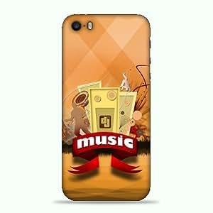 alDivo Premium Quality Printed Mobile Back Cover For Apple iPhone 5S / Apple iPhone 5S printed back cover (3D)RK-AD018