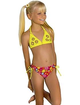 Kids Mädchen Bikini-Set Tankini Badeanzug Bademode Beachwear Bathing New M46