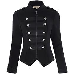 574fc3b0e32a Las Chaquetas estilo Almirante para mujer: un abrigo elegante que te ...