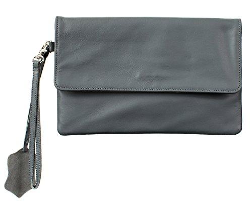 Joselle  Clutch Bag A1009, Pochette pour femme Gris - Gris