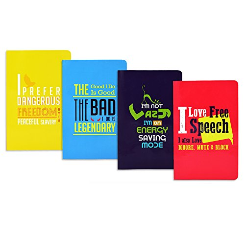 Doodle-Young-Guns-Notebooks-Diaries-A5-Set-of-4-Friendship-Day-Gift