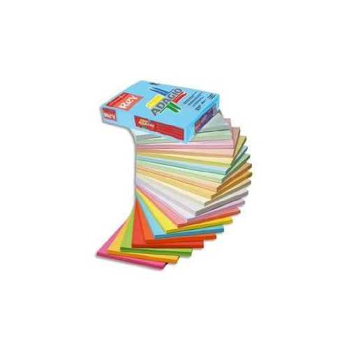 Preisvergleich Produktbild Rey Adagio von farbiges Papier,  A4 80 g / qm 500 Blatt – Farbe: Deep Blue