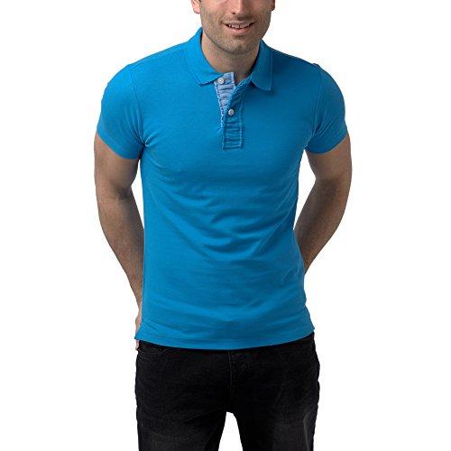 Charles Wilson Camiseta Polo Solapa Contraste Small