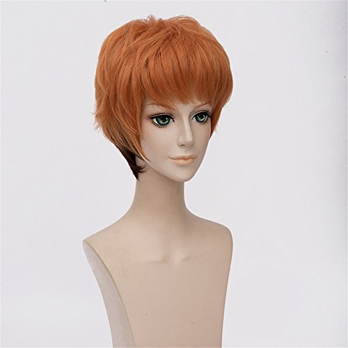LanTing Cosplay Wig Zootopia Nick Brown Mix Styled Frauen Cosplay Party Fashion Anime Human Costume Full wigs Synthetic Haar Heat Resistant Fiber