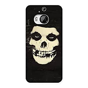Impressive Vintage Skull Face Back Case Cover for HTC One M9 Plus