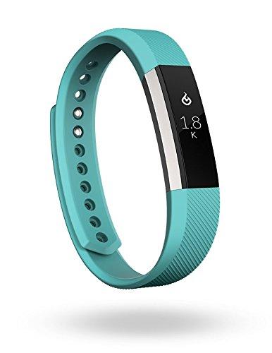 Fitbit Alta - Pulsera para actividad física, color agua verde, talla L